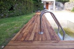 pavimenti in legno per piscine by Soriano pavimenti Induno - Varese