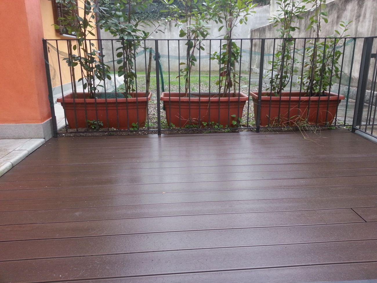 Rivestire pavimento effetto legno with rivestire - Piastrelle per balcone ...