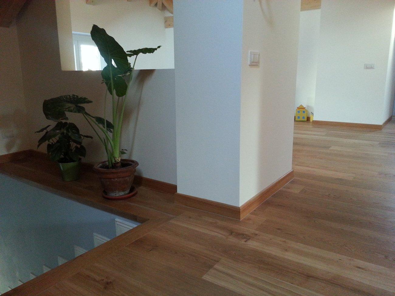 pavimenti per interni in rovere