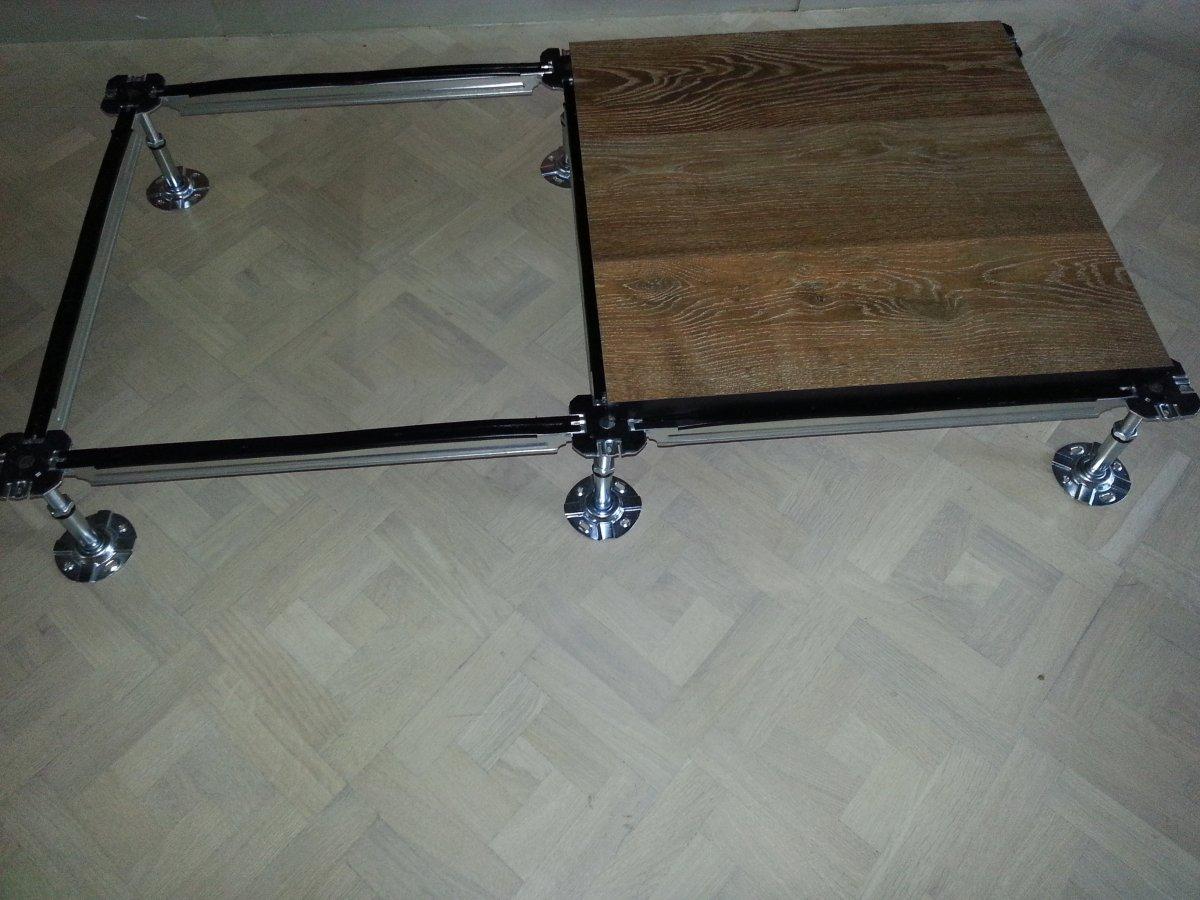 pavimento legno a struttura galeggiante