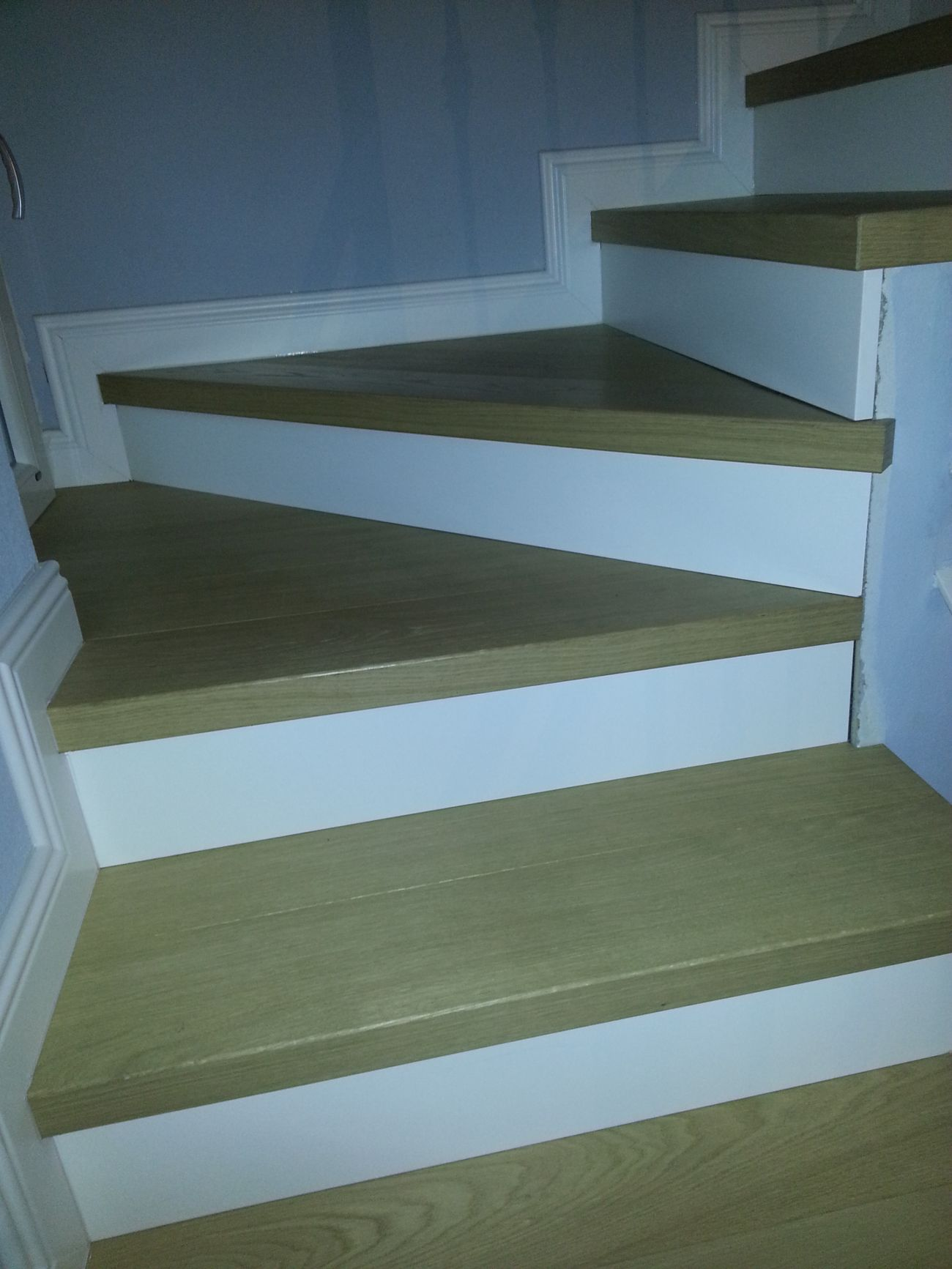 Rivestimento in legno per gradini soriano pavimenti in legno - Ikea pavimento esterno ...